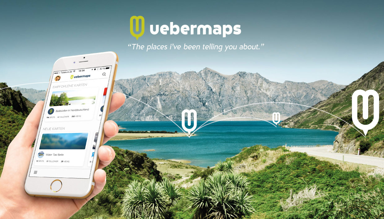 uebermaps - create maps & share locations